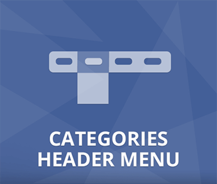 Nop Categories Header Menu