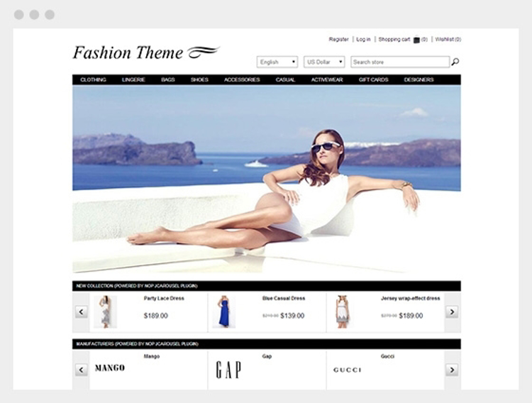 Nopcommerce Fashion Responsive Theme