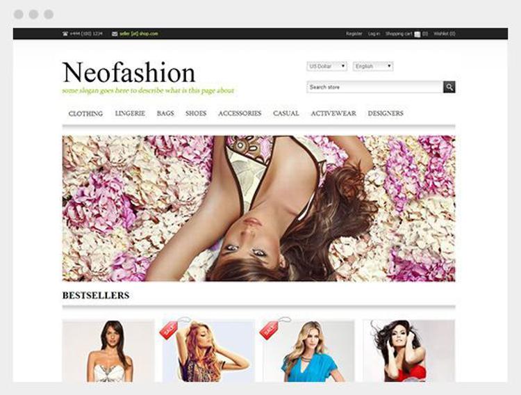 Nopcommerce Neofashion Responsive Theme