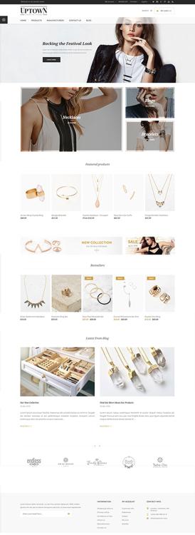 Nopcommerce Uptown Jewelry Responsive Theme