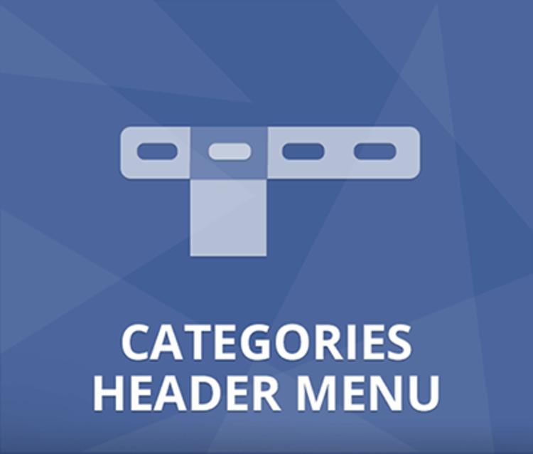 Nop Categories Header Menu